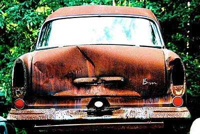 Rust never sleeps- Ford-15m