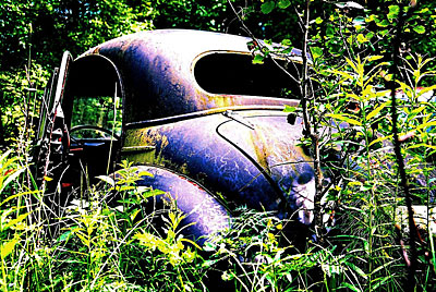 Rust never sleeps - Morris-Minor