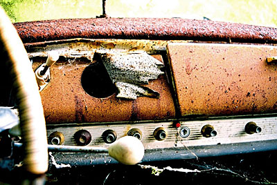 Rust never sleeps - Citroen-DS-Tableau