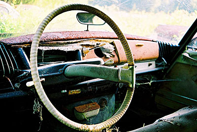 Rust never sleeps - Citroen-DS-Tacho