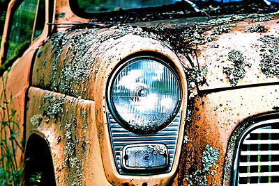 Rust never sleeps- Ford-Anglia-101e