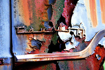 Rust never sleeps - Ford-Taunus