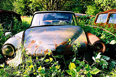 Rust never sleeps - Citroen DS