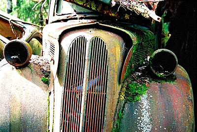 Rust never sleeps - Ford Anglia 4