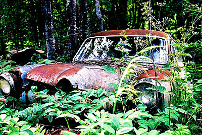 Rust never sleeps - Ford-Taunus 1