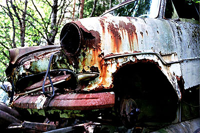 Rust never sleeps - Ford-Taunus 15M