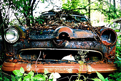 Rust never sleeps -  Ford-Taunus 2