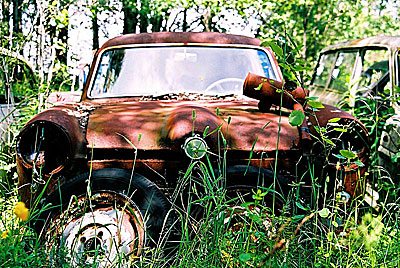Rust never sleeps - Ford-Taunus 3