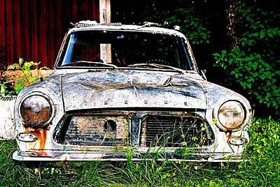 Rust never sleeps - Ford Taunus
