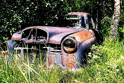 Rust never sleeps - Mercedes 180