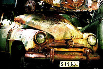 Rust never sleeps - Simca Aronde