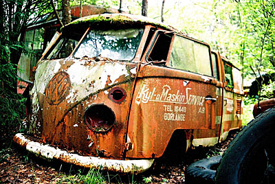 Rust never sleeps - VW Bully