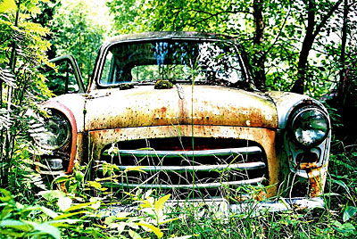 Rust never sleeps - Ford Anglia