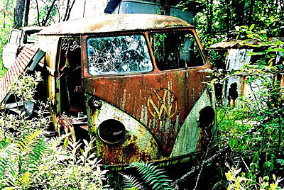 Rust never sleeps - VW Bus